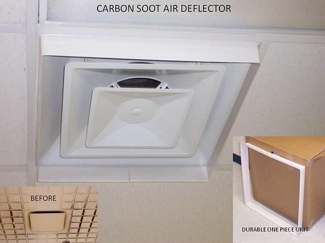 Ceiling Diffuser Air Deflector : Carbon Soot Air Deflector. u2026 : Flickr