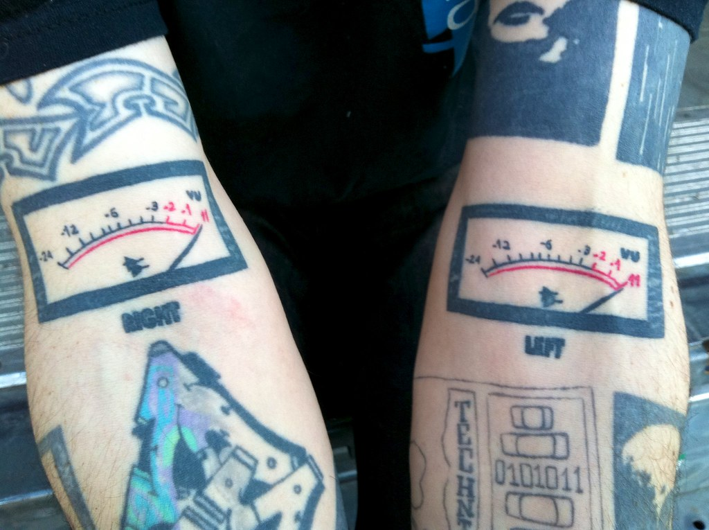 Meter Tattoo Dan's vu Meter Tattoos