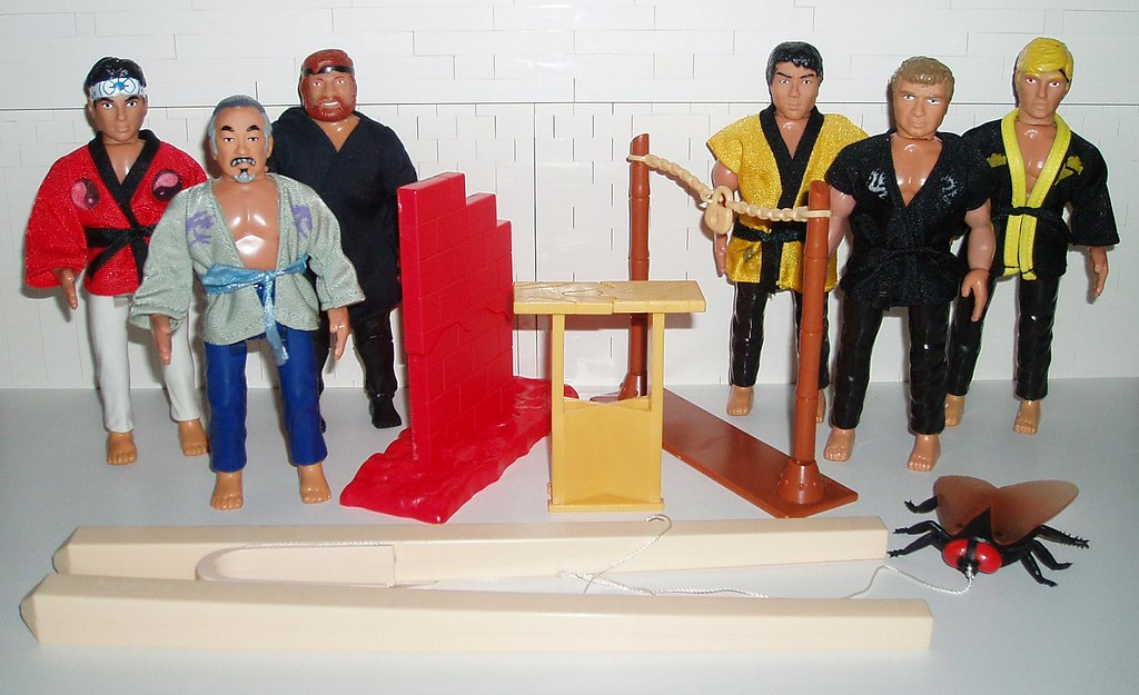 The Karate Kid Remco Action Figures Karate Kid Action