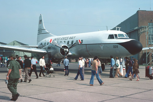 Convair C131, US Navy | by Ian-Cole