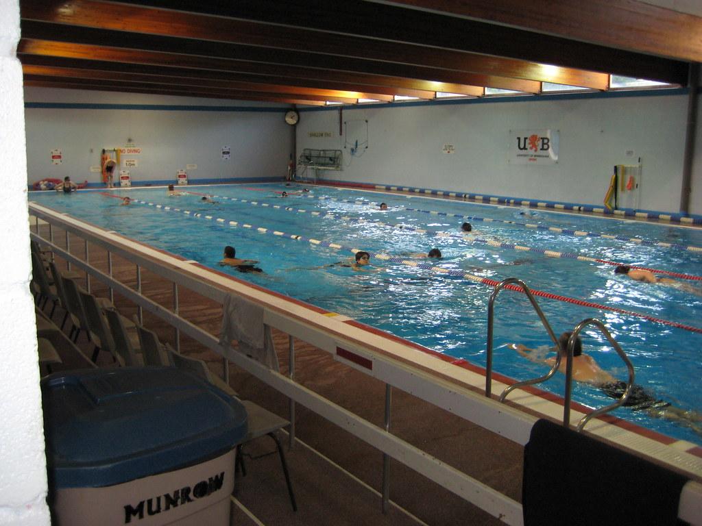 Swimming Pool University Of Birmingham Flickr