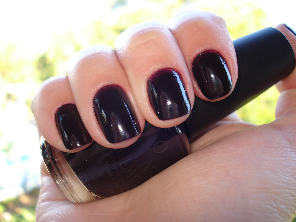 lincoln opi opis midnight s after greeneyespinknails park dark at