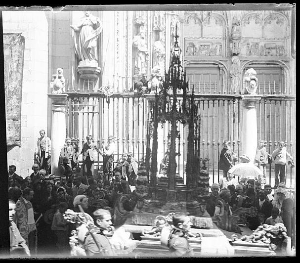 procesión del Corpus de Toledo en 1910