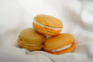 Orange Macarons | by Renée S. Suen