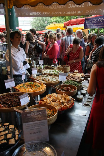 London Food Market Hyde Park