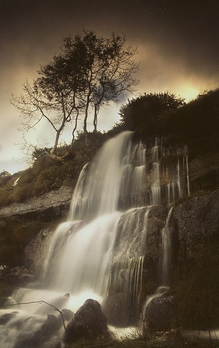 Waterfall on the Burren | by Sean Mac Thomas/ gone away for awhile