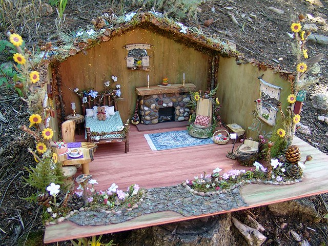 Handmade Fairy House We Design And Create Fairy Houses