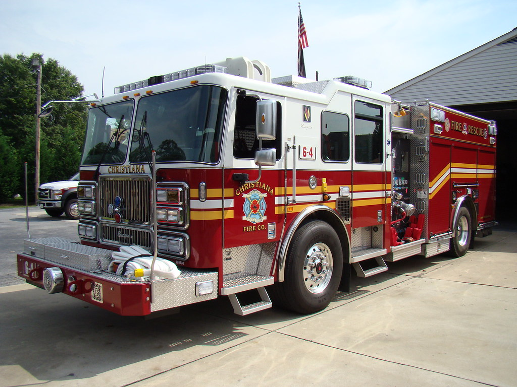 Engine 64, Christiana Fire Company | 2009 Seagrave ...