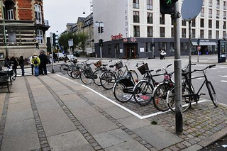 Copenhagen Bike Parking Zone | by Mikael Colville-Andersen