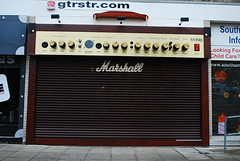 The New Acoustic Store shop front!