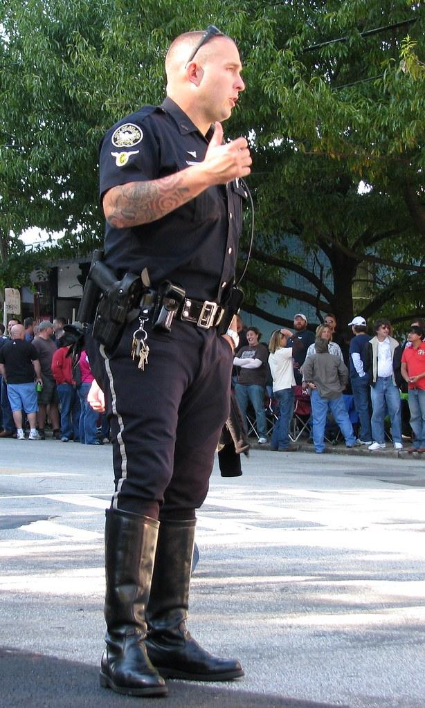 police gay porno
