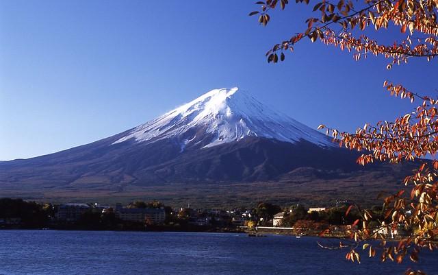 河口湖からの富士山 - Mt.Fuji and Lake Kawaguchi | Nikon F5, SIGMA ...