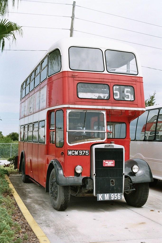 Birkenhead Corporation Mcm 975 Leyland Pd Arkansas Bus