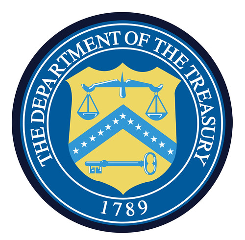 Department of the Treasury Seal | by DonkeyHotey