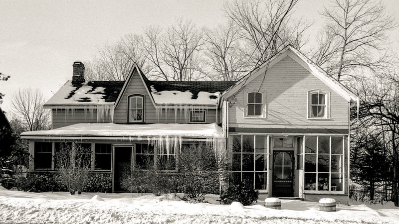 House with Icicles_