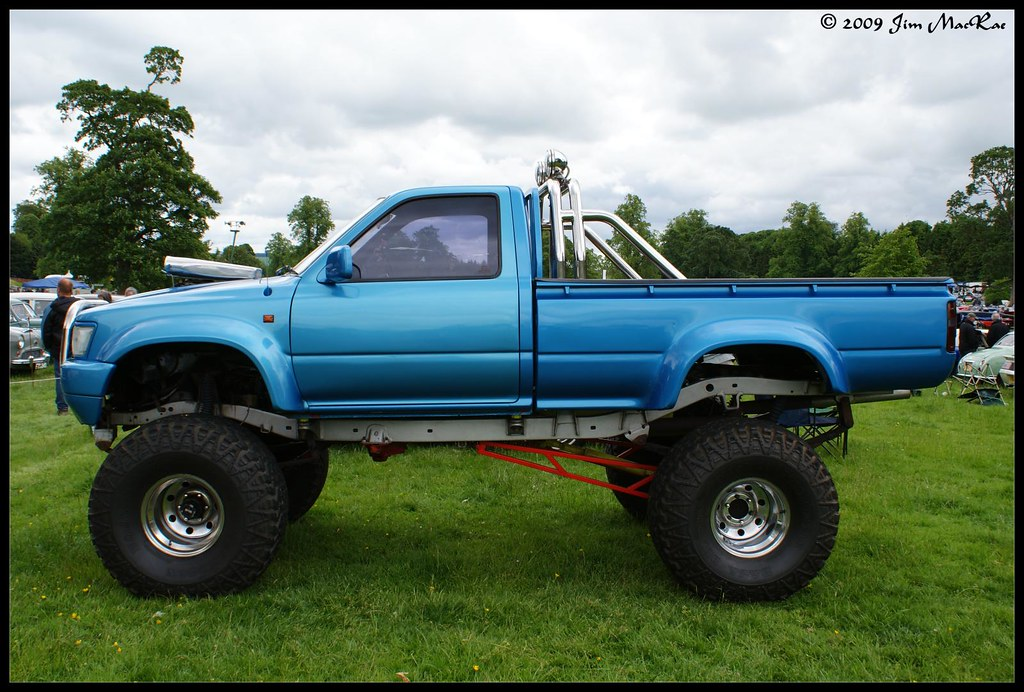 Toyota Hilux Monster Truck Jim Macrae Flickr