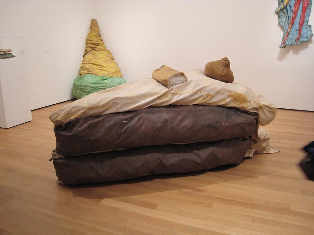 nyc moma floor cake claes oldenburg charmchang flickr. Black Bedroom Furniture Sets. Home Design Ideas
