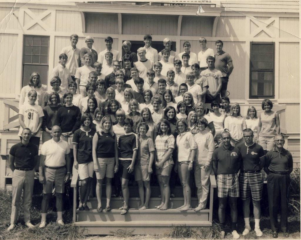 chautauqua ny  boys and girls club staff  1966