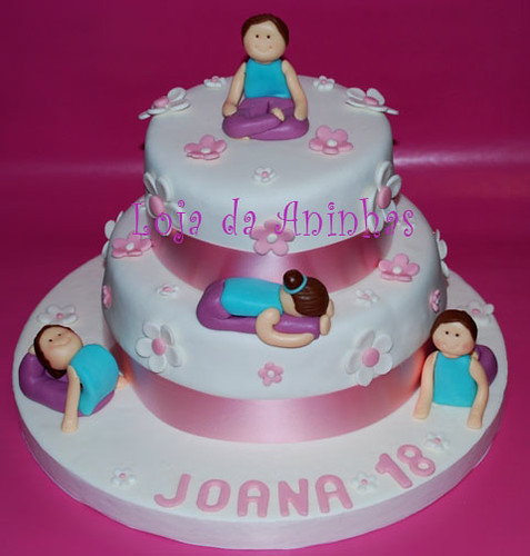 Yoga Birthday Cake Ideas