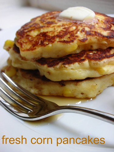 fresh corn pancakes | by awhiskandaspoon