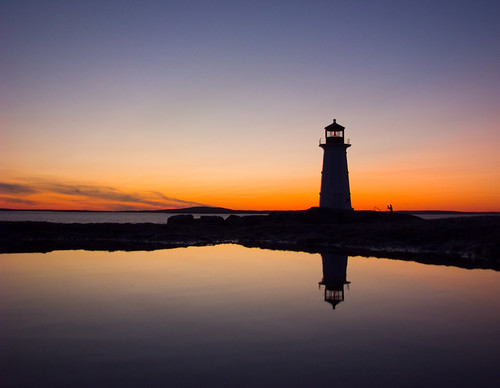 Peggy's Cove sunset | by DGMiller777