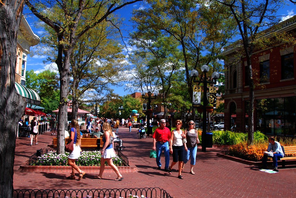 Pearl Street Boulder Colorado Labor Day On Pearl Street Flickr