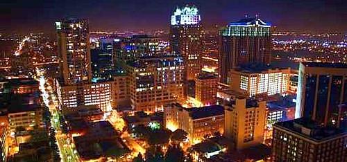 Orlando Skyline Night