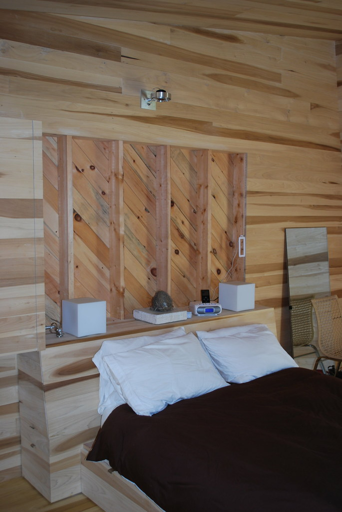 Sliding House Loft Bedroom The Built In Bed And Head