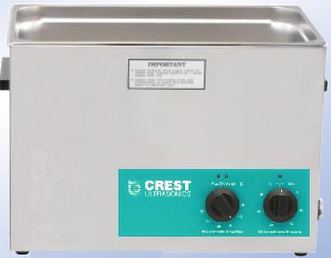 Crest 2 5 Gallon CP1200HT Ultrasonic Cleaner | Crest 2 5 Gal