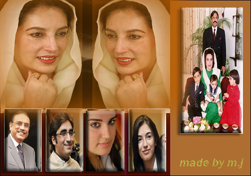 Benazir Bhutto And Her Family Benazir Bhutto Family | by bb