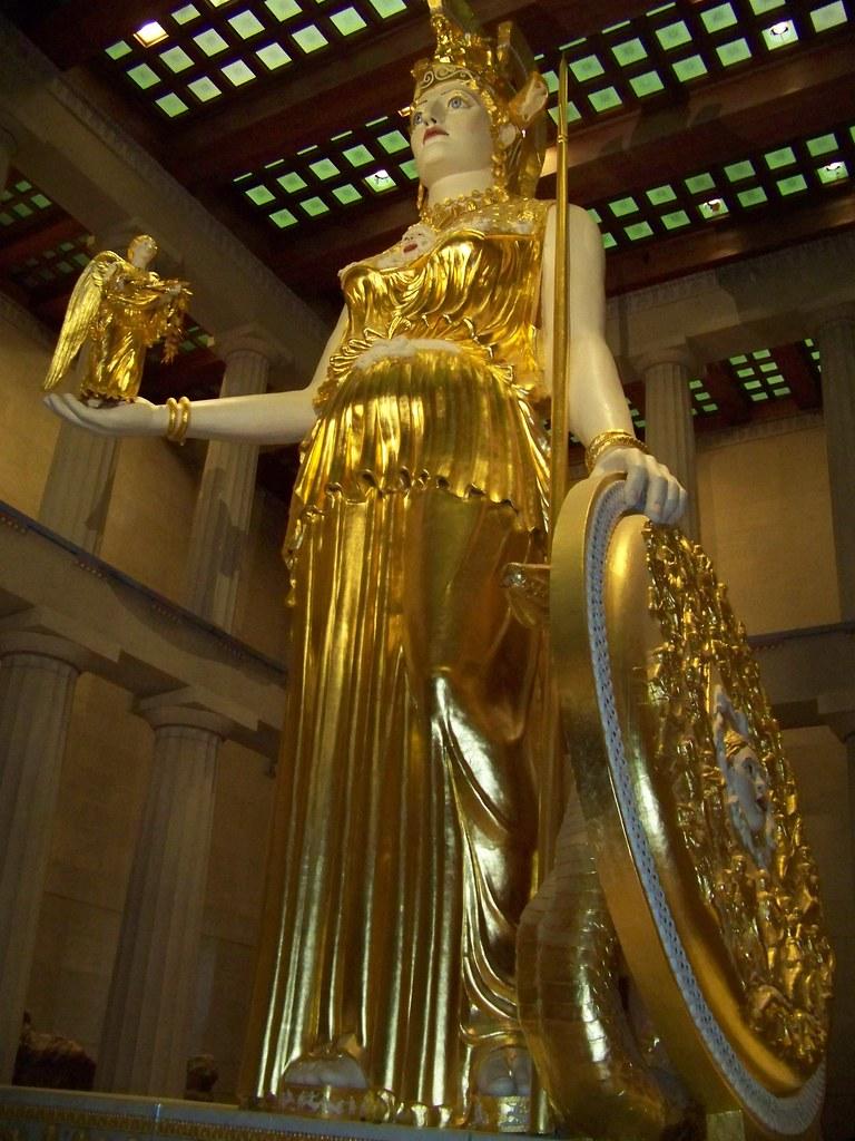 Athena Parthenos 2 Parthenon Nashville Tennessee