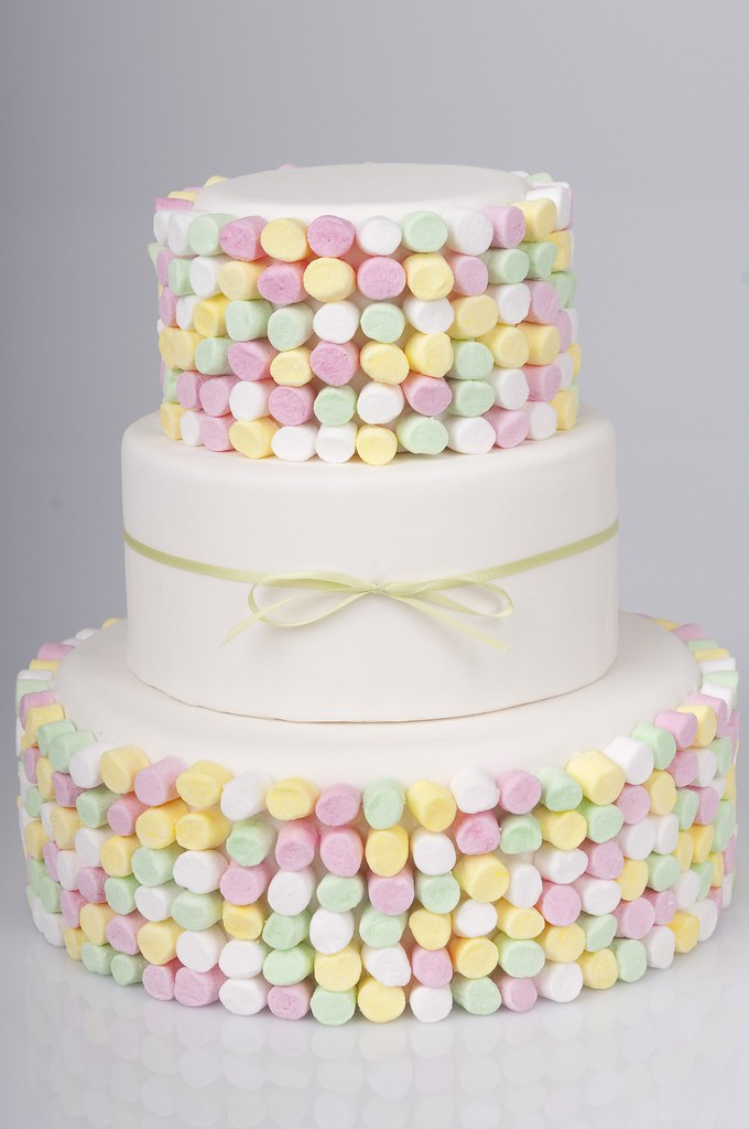 Cake Design On Pinterest : Marshmallow Cake This was my version of the candy style ...