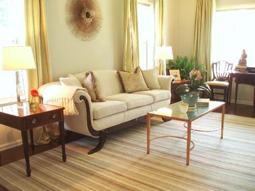 ... Homes] Neutral Paint Color: Elegant + Stylish Living Room: Benjamin  Moore