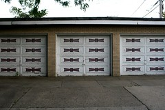 Midcentury garage door | by repowers