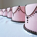 pink table cakes