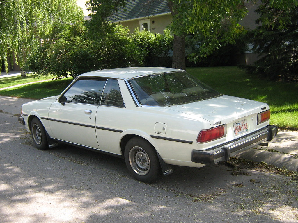 <b>Mazda</b> 626 | <b>Mazda</b> 626 coupe - last of the line for rear ...