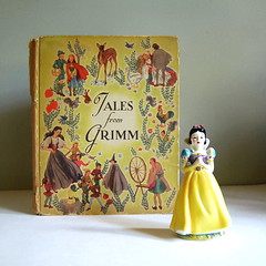 Tales from Grimm, Vintage Fairy Tale Book | by calloohcallay