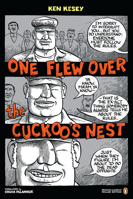 symbolism in one flew over the One flew over the cuckoo's nest (1962) is a novel written by ken kesey set in an oregon psychiatric hospital, the narrative serves as a study of the institutional.