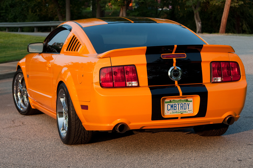 Grabber Orange 2007 Ford Mustang Gt Grabber Orange 2007