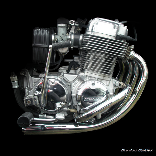 NO 49: HONDA CB750F MOTORCYCLE ENGINE