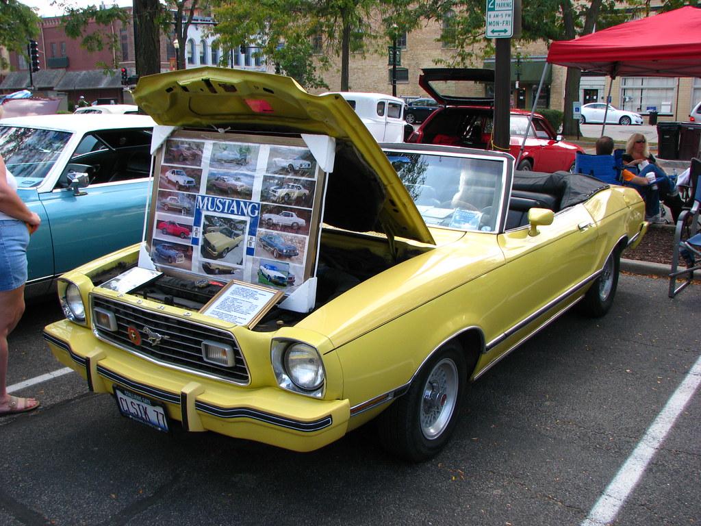 1977 ford mustang ii ghia convertible by geognerd