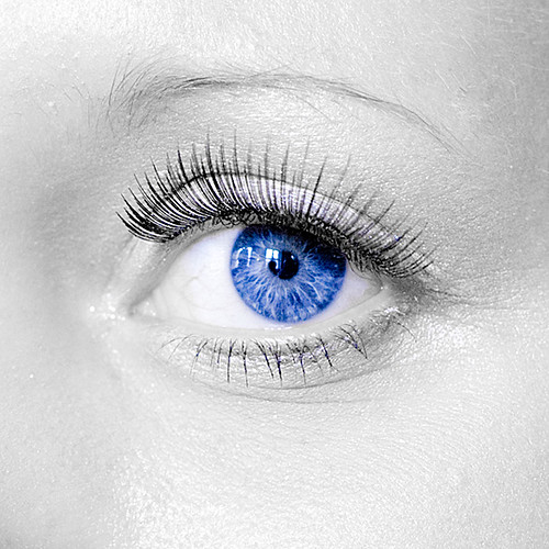 Blue Ice/Eyes | Model: Anne-Maria P. edited by my new ... Human Ice Blue Eyes
