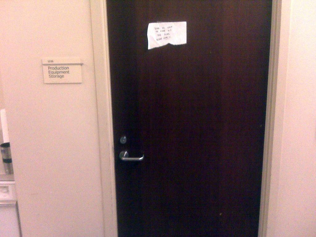 Door With Makeshift Sign   Jeff Houck   Flickr