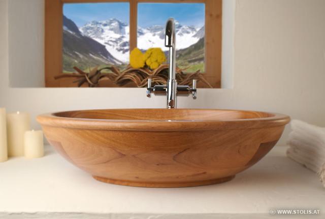 Stolis Holzwaschbecken Wood Sink Model Lilium Stolis Flickr
