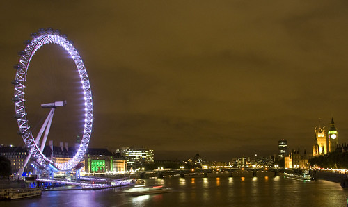 London eye & Southbank - London after Dark series | by theboybg