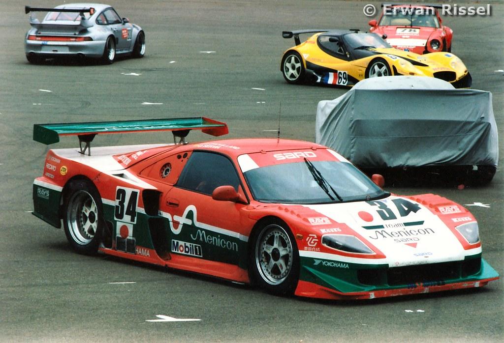 34 Sard Mc8 R Toyota 24 Heures Du Mans 1997 Team