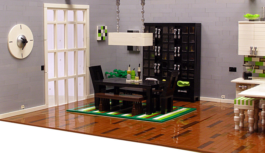 Dining area inspired by one of candice olsen 39 s kitchen des flickr - Lego house interior ...