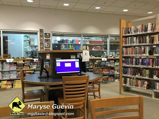 bibliothèque USA États-unis