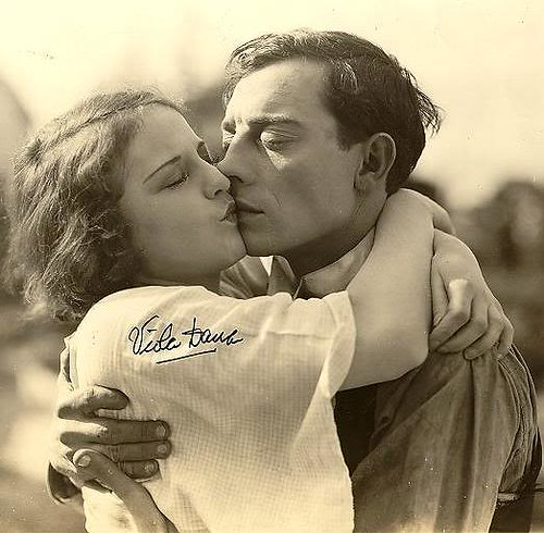 Buster Keaton with Viola Dana   MILK_   Flickr