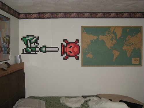 ... Pixellated Zelda Wall Art | by thegnome54 & Pixellated Zelda Wall Art | I really love zelda and Linku0027s u2026 | Flickr
